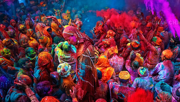 Holi, The Festival of Colors, India